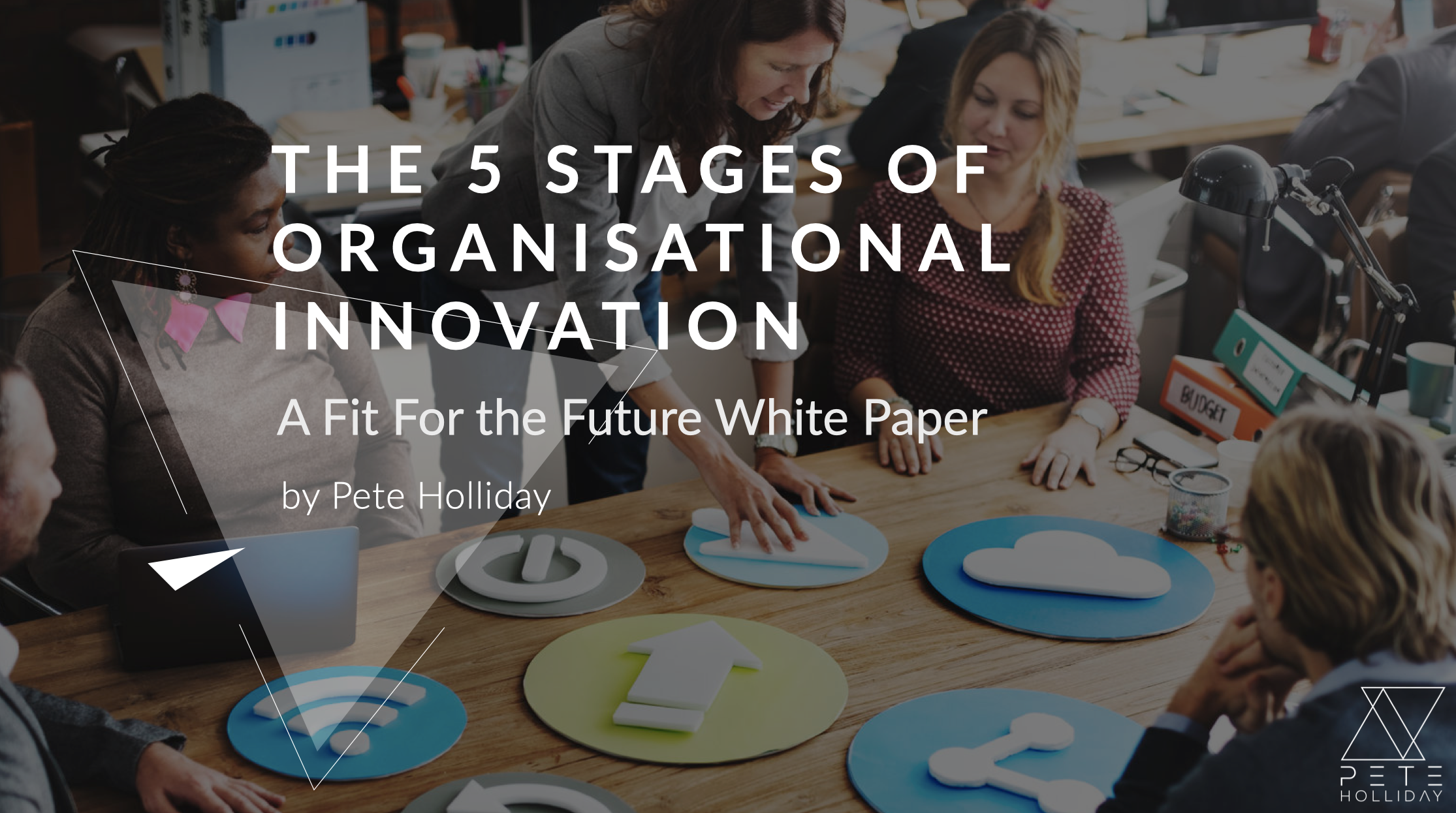 The 5 Stages of Organisational Innovation - Lots of organisations use the word innovation but in the work I do, I find that it has multiple meanings. In this white-paper, I explored the application of innovation at different levels of organisational maturity.