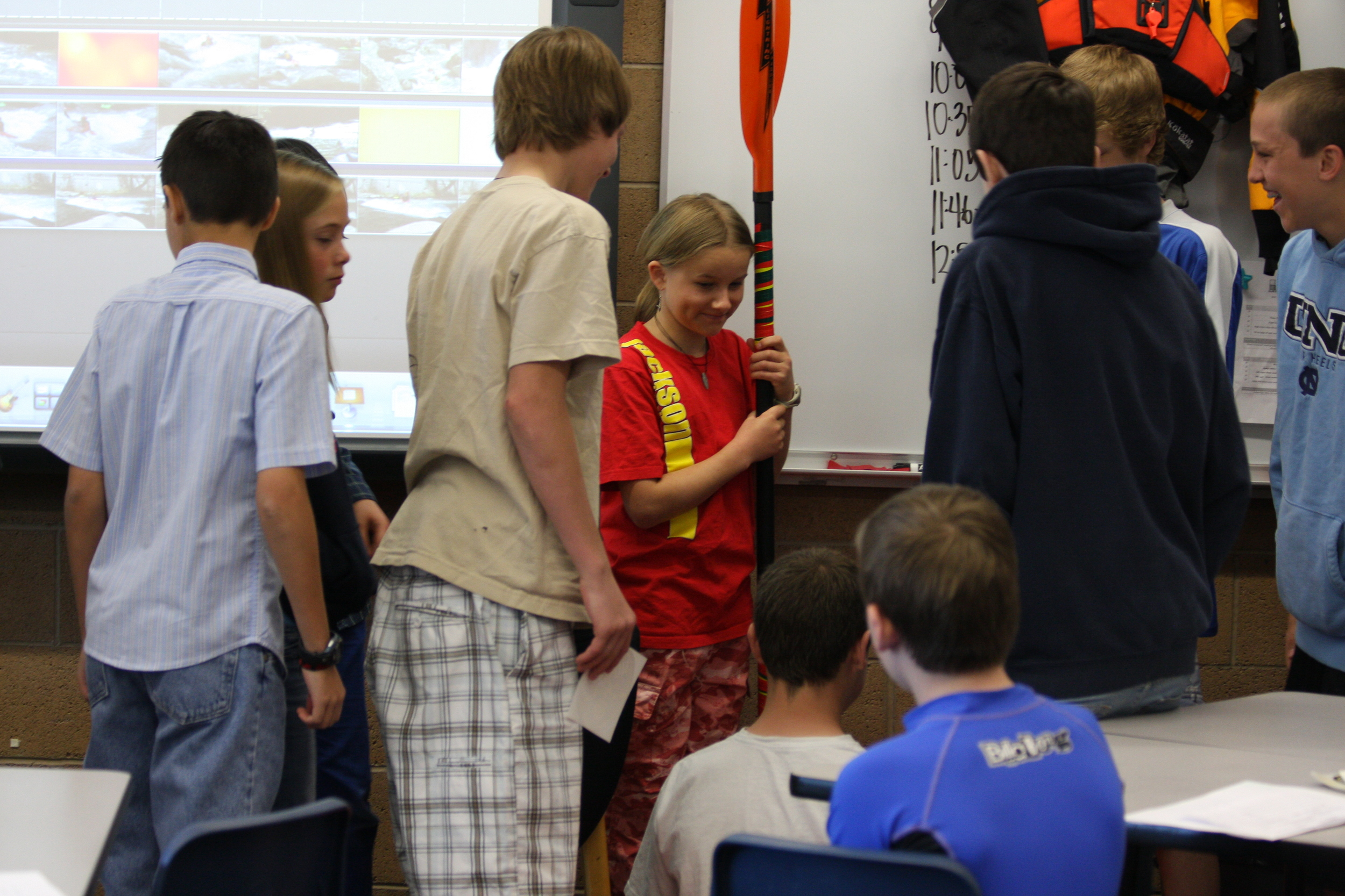 Career Day, Billinghurst Middle School, Reno, NV.