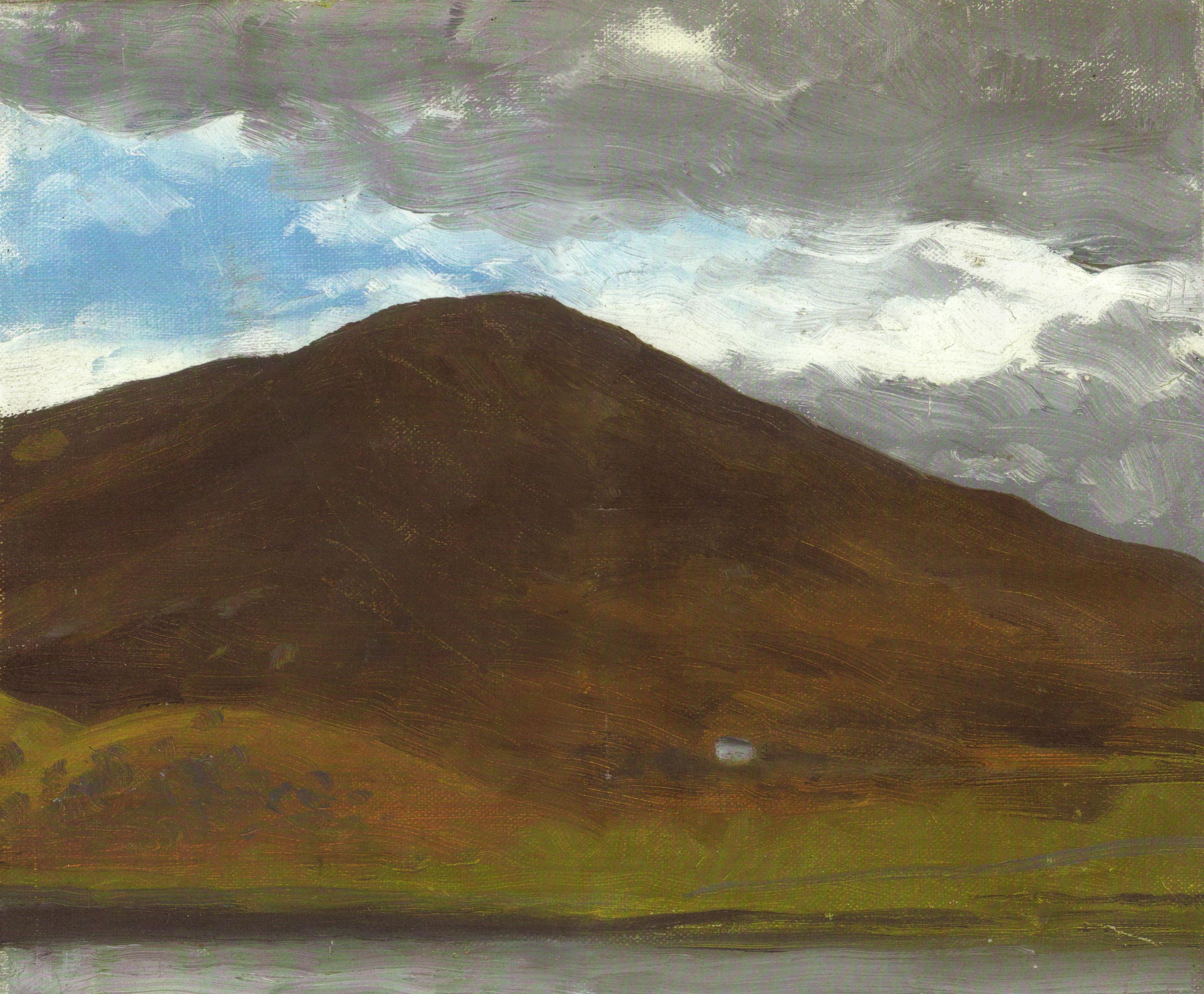 Mountains near Bala