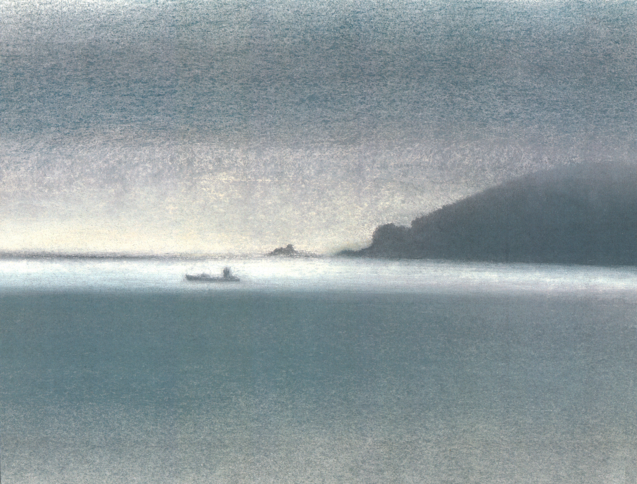 Penlee Point in the mist