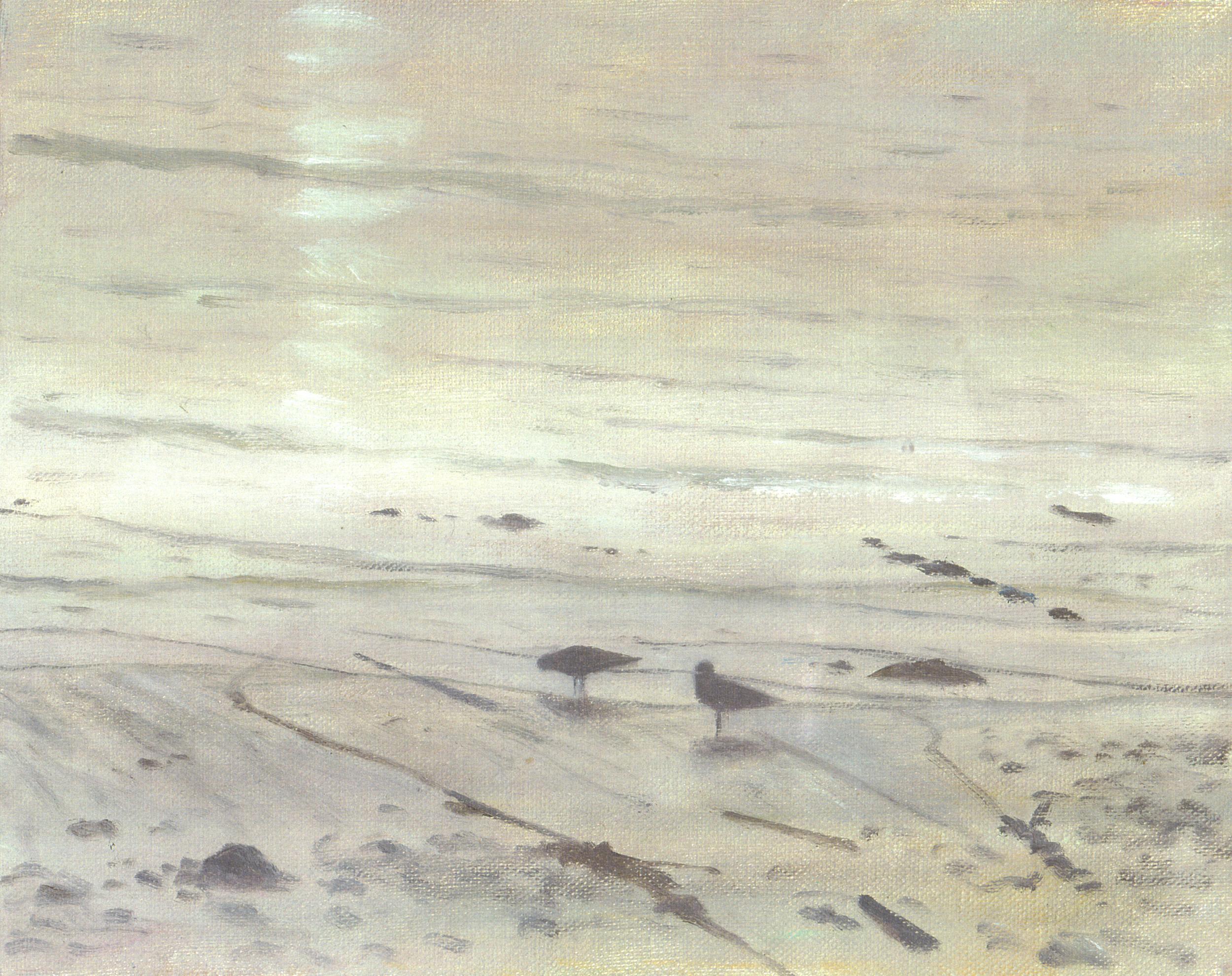 Two gulls, Newlyn