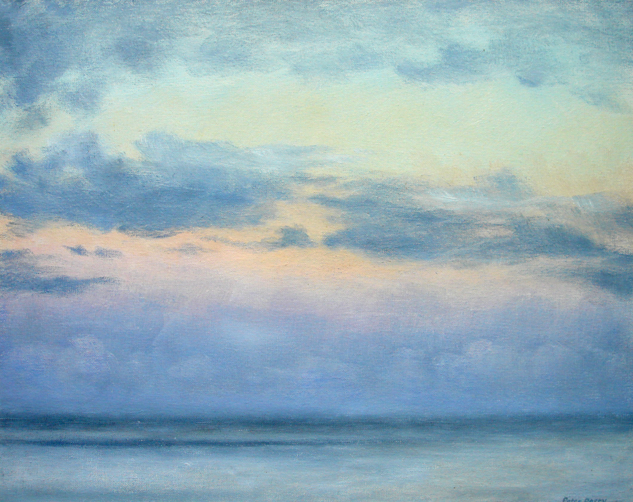 Sky study, West Cornwall