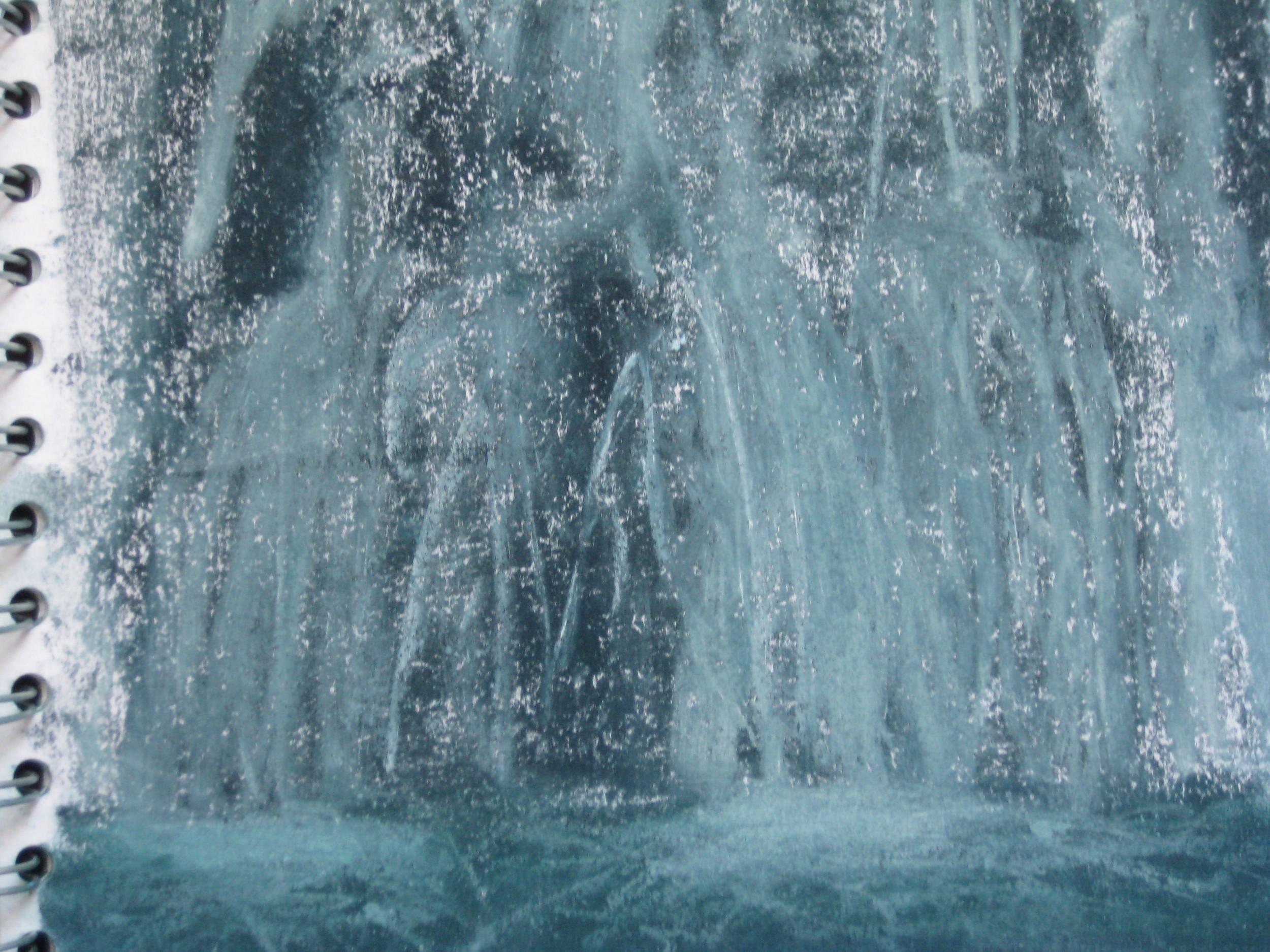 WATERFALL, LYSEFJORD, NORWAY
