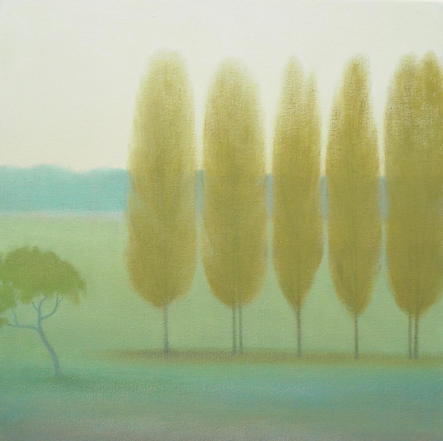 Poplars, Forges les Eaux, Normandy
