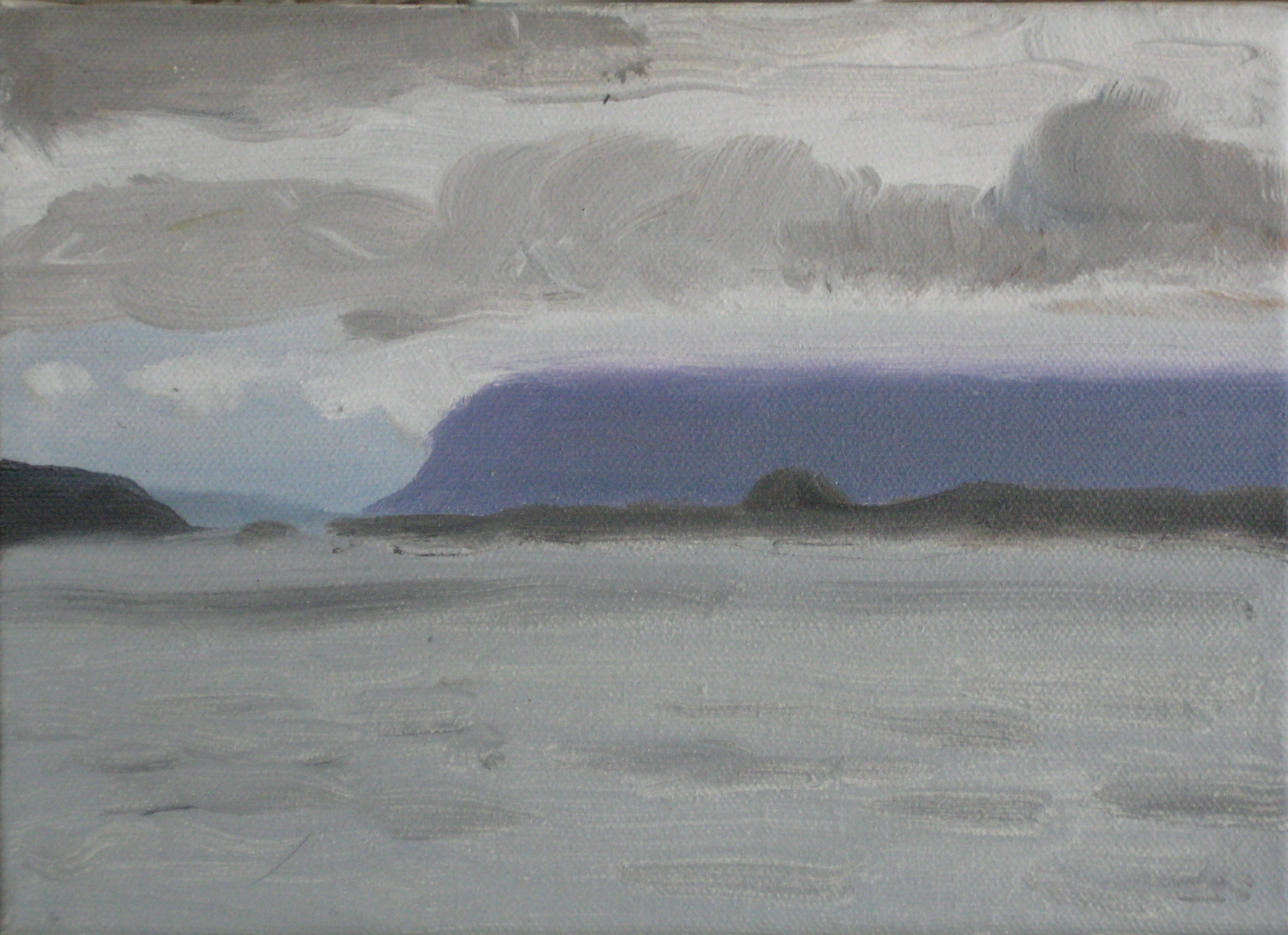 "WEST ICELAND 3  8X6"" (20X15cm)   Oil on canvas"