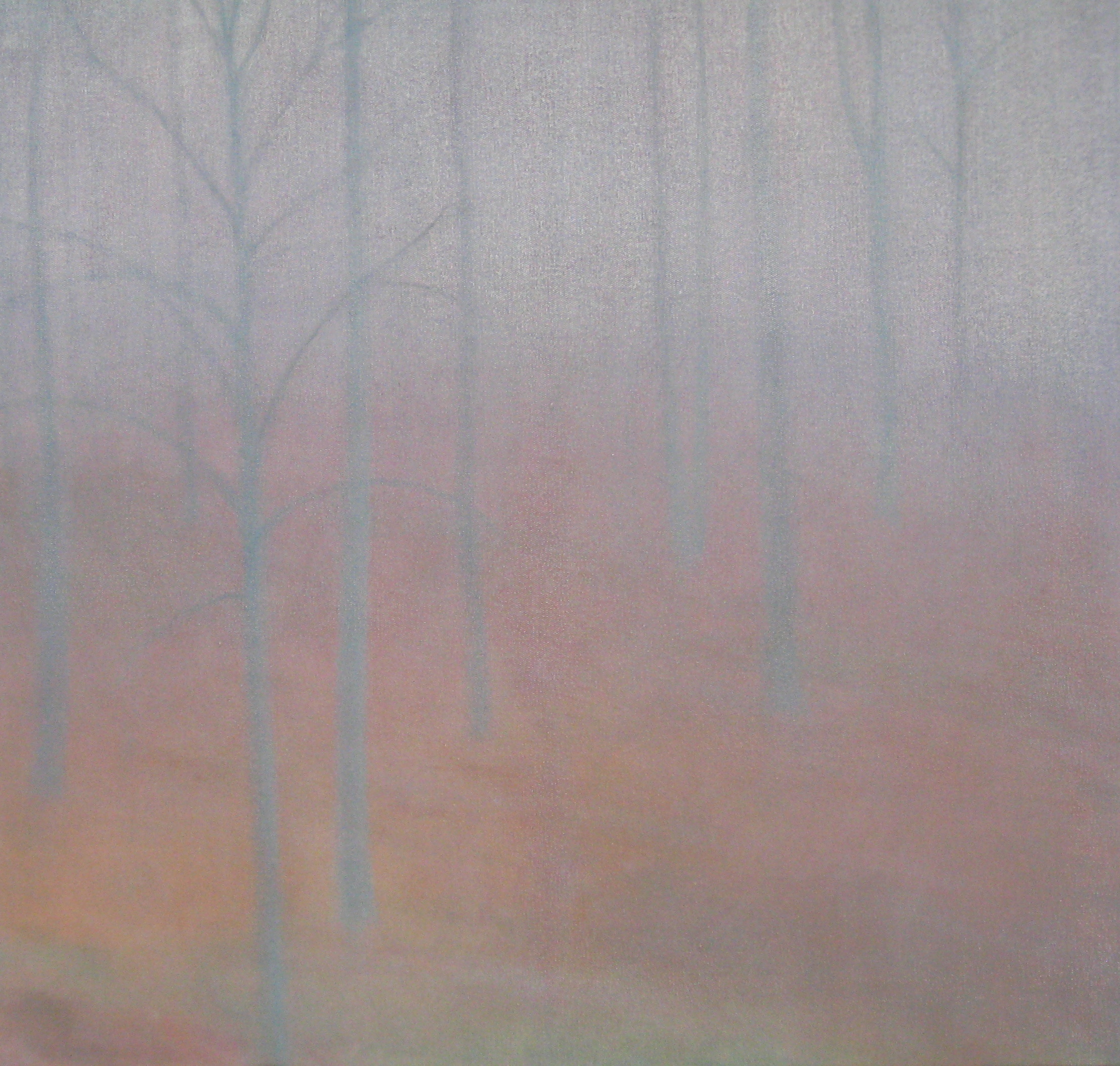 "BEECH WOOD II  24X24"" (61X61cm)  Oil on canvas     Sold"