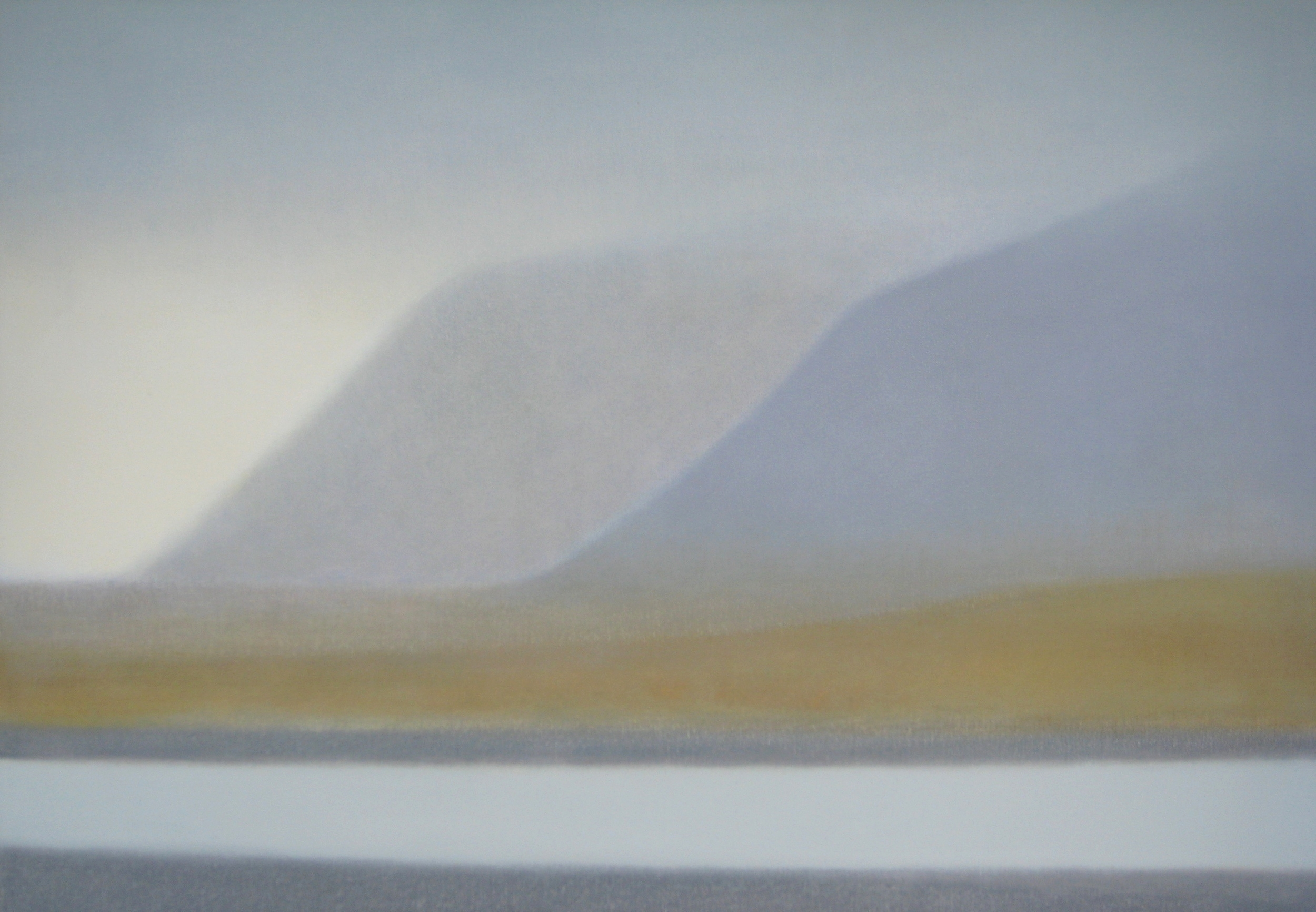 """WEST ICELAND VI  40X30"""" (102X76cm) Oil on canvas       Sold"""