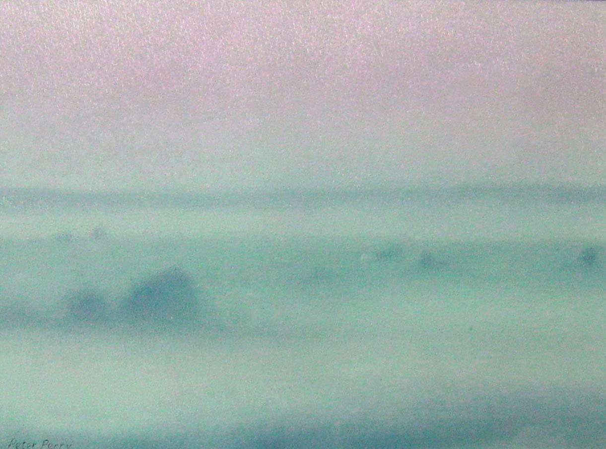 Early morning fog, Britanny