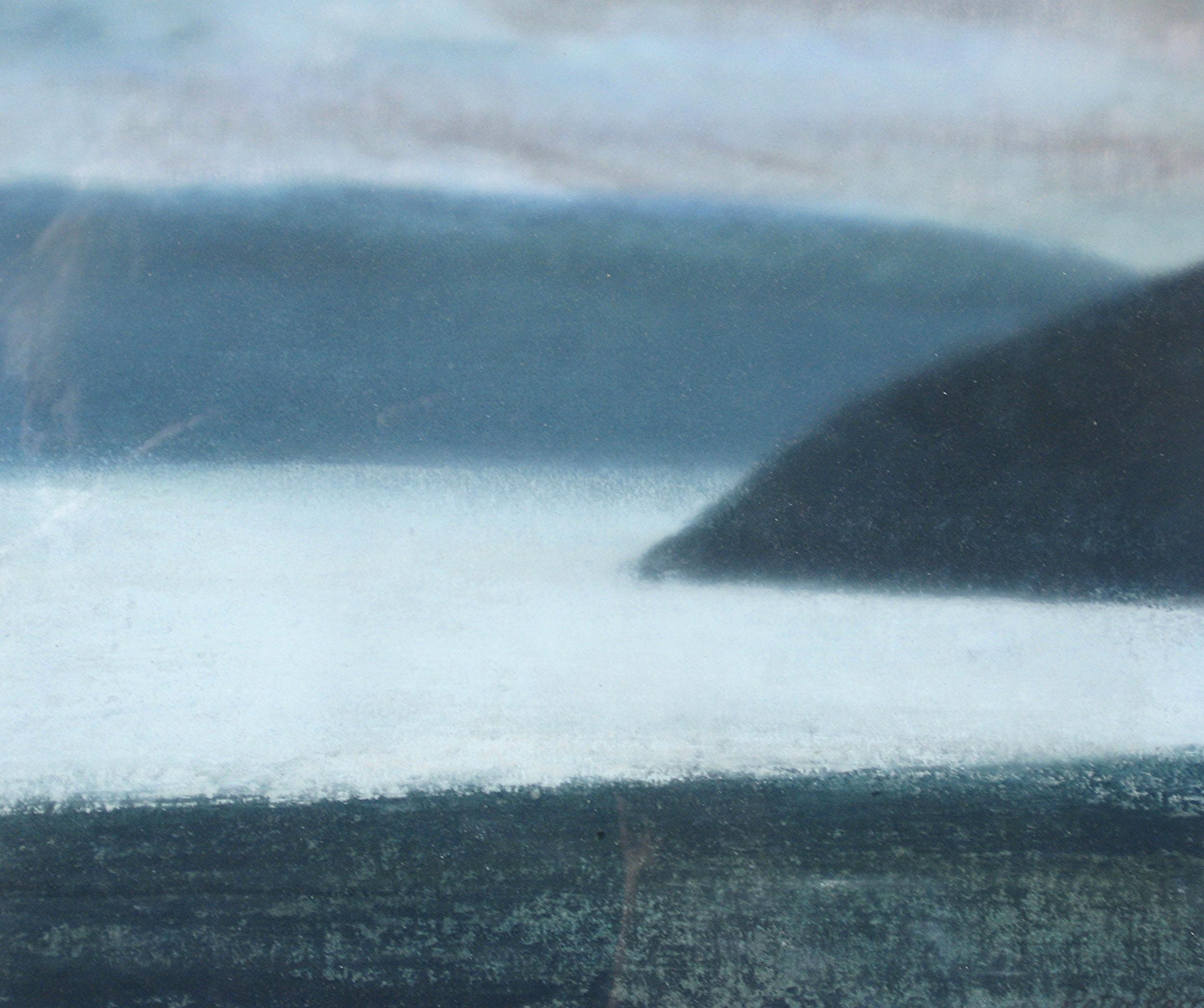 """JELSA, NORWAY III  8.25X8.25"""" (21X21cm) Pastel on paper"""