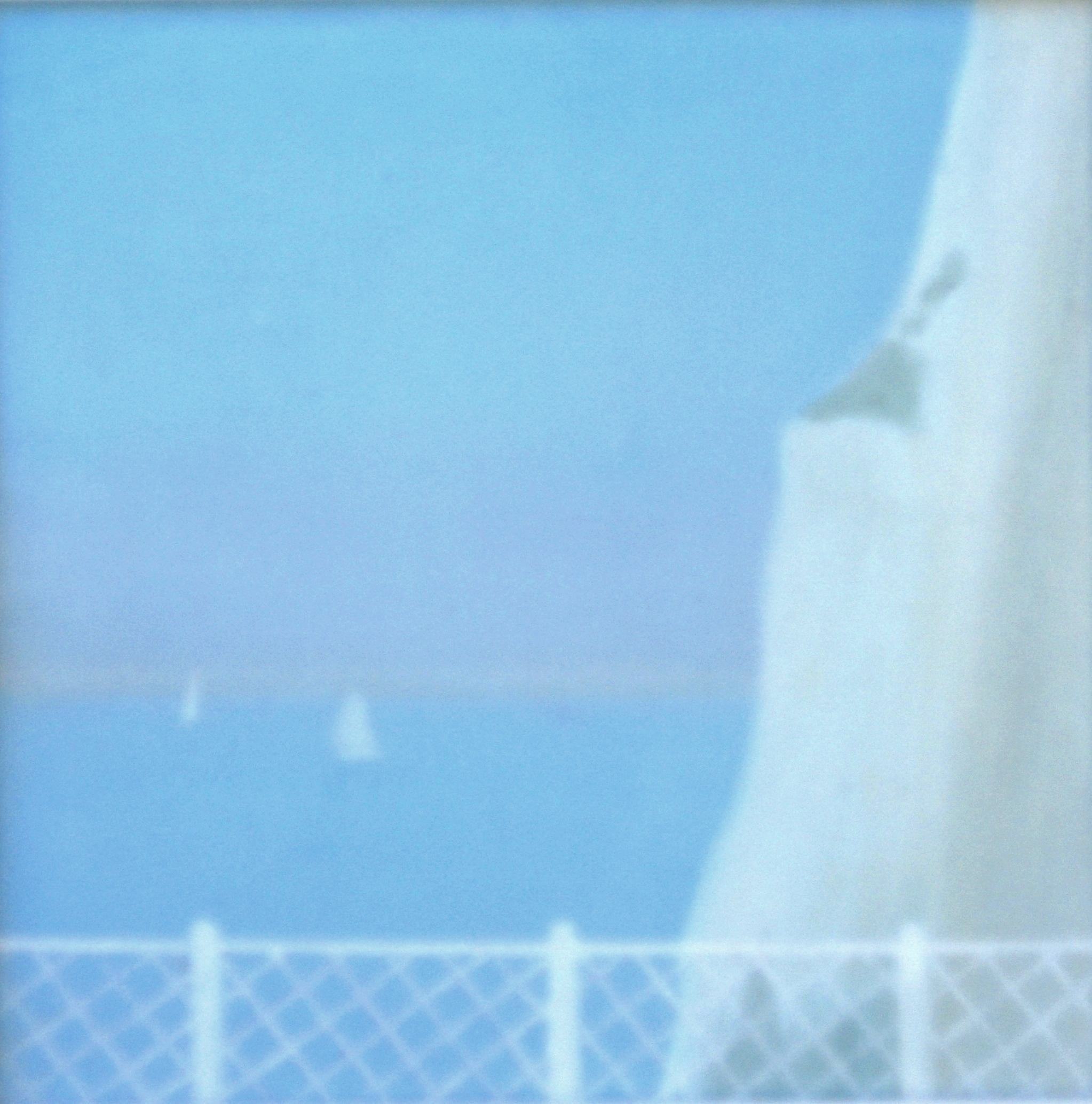 "PICARDY COAST II  7.5X7.5"" (19X19cm) Oil on canvas"