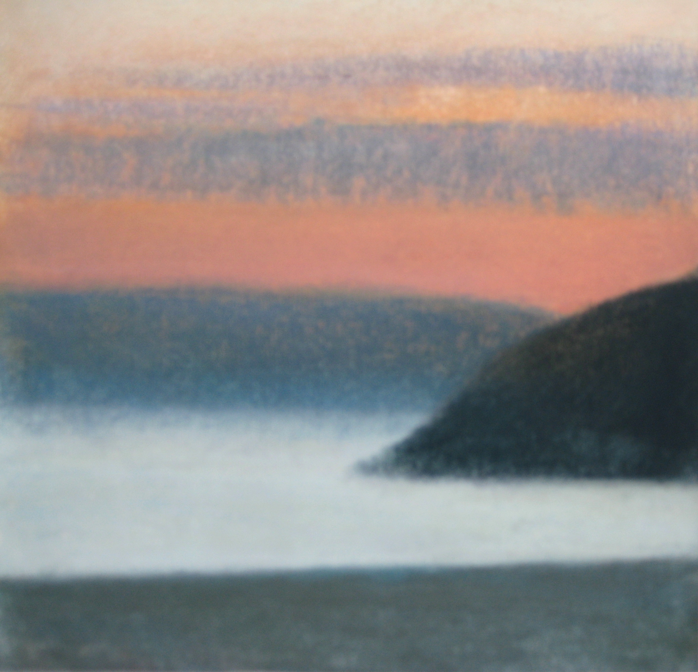 "JELSA, NORWAY  Approx 7X7"" (18X18cm)  Pastel on card   Sold"