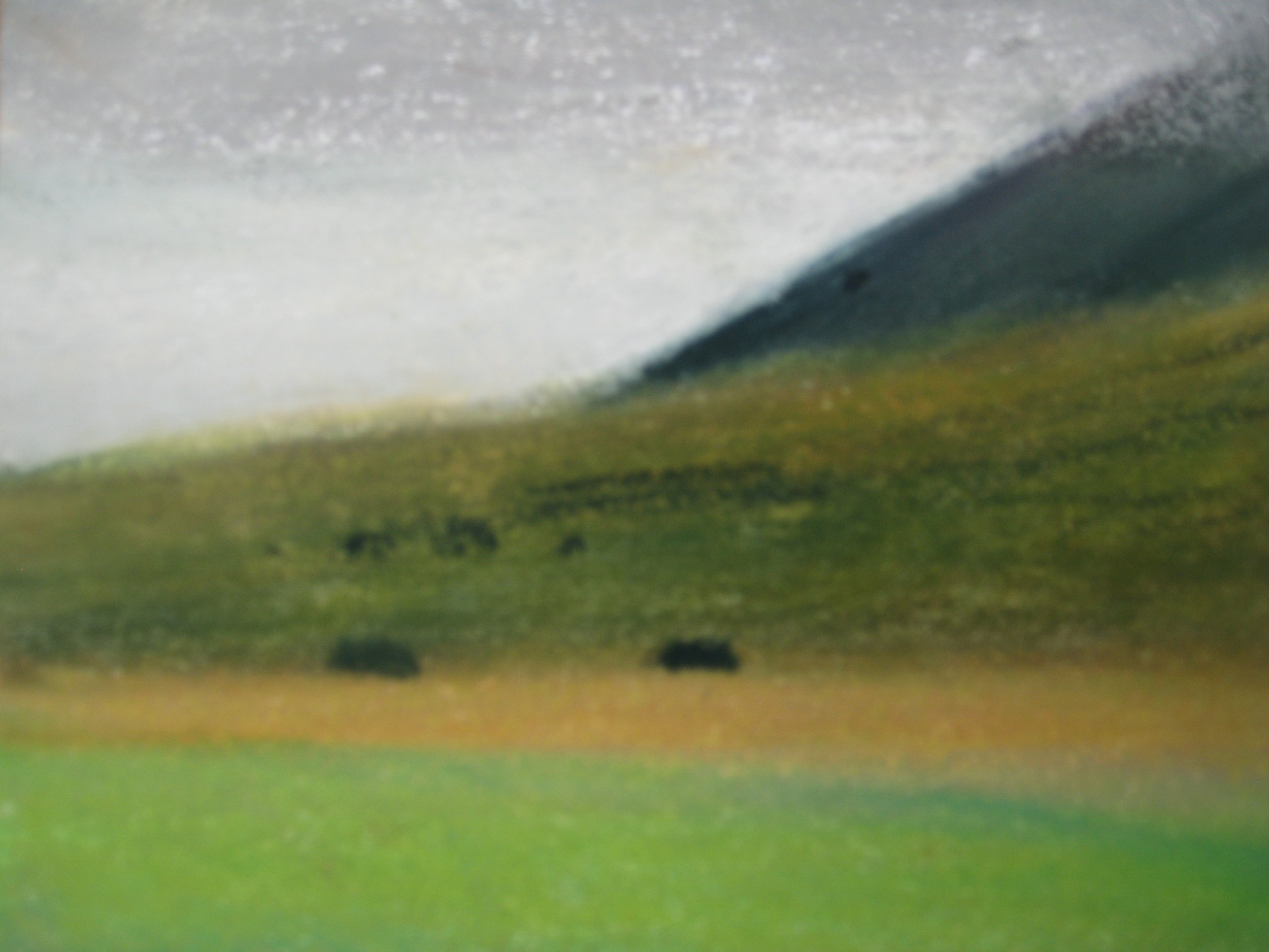 """WEST ICELAND 7  Approx 7.75x6.5"""" (19x16cm) Pastel on card"""