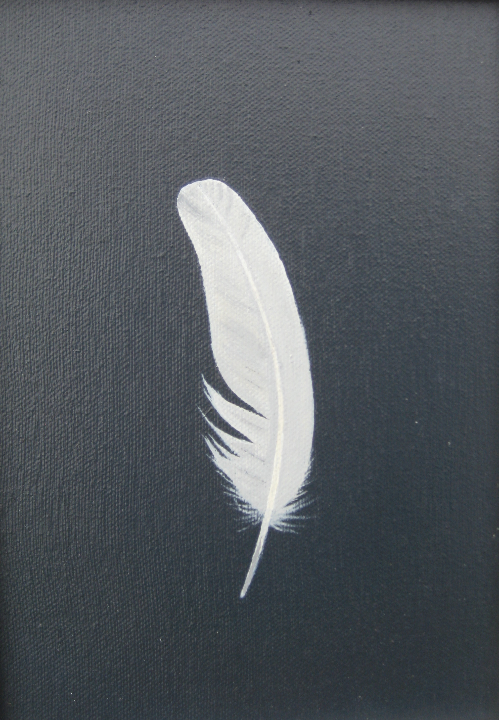 SMALL WHITE FEATHER II