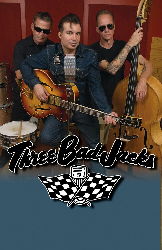 The Bay Area Luscious Ladies can't wait to hang out with you all!!! If you haven't heard of the Three Bad Jacks you're missing out but we can fix that! Come say hi and listen to some rockin tunes!