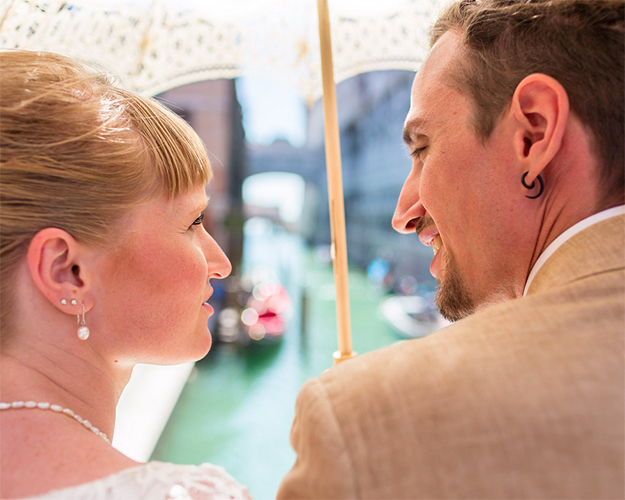 religious wedding documents for a catholic wedding in venice