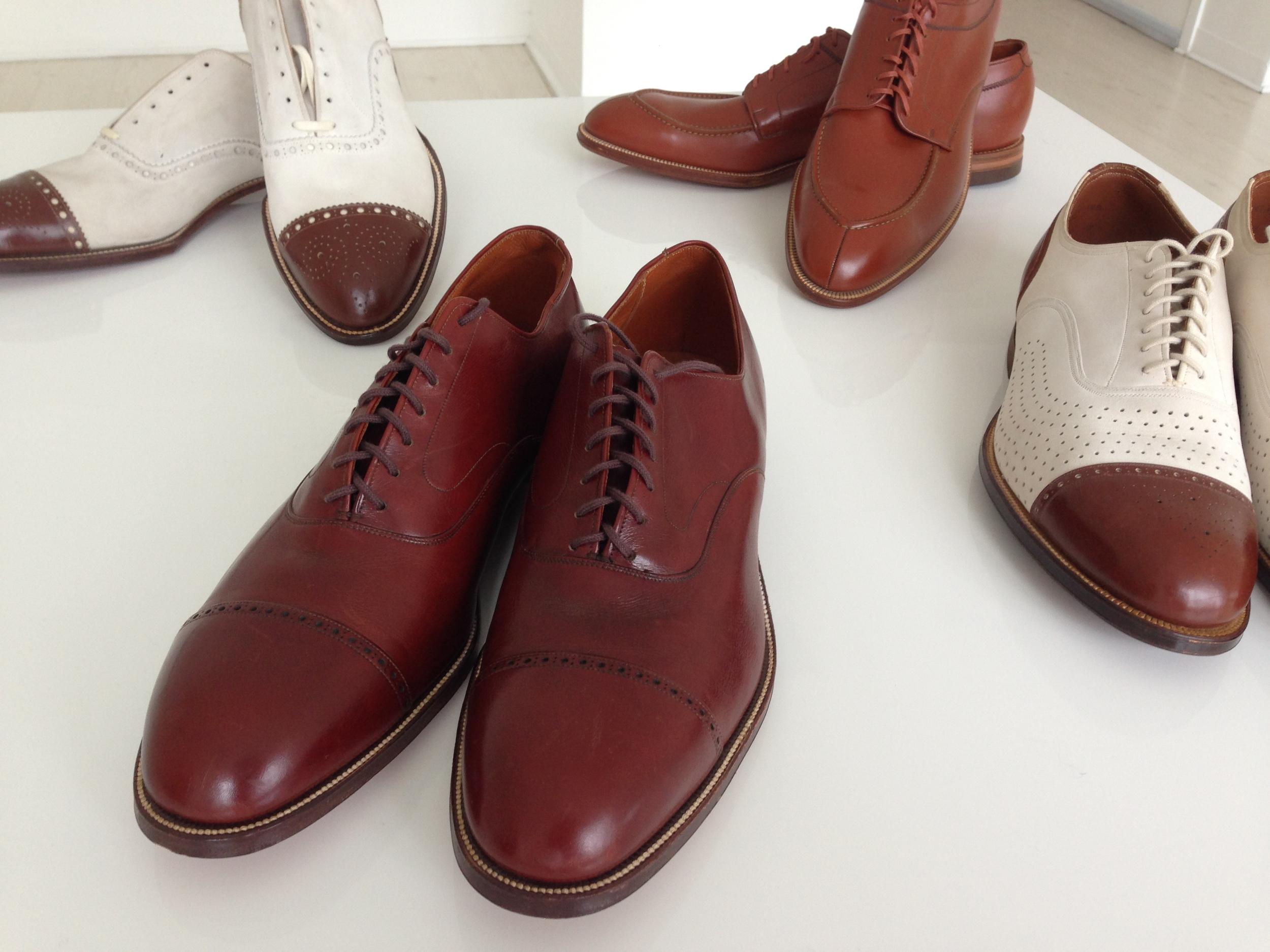 Authentic vintage shoes