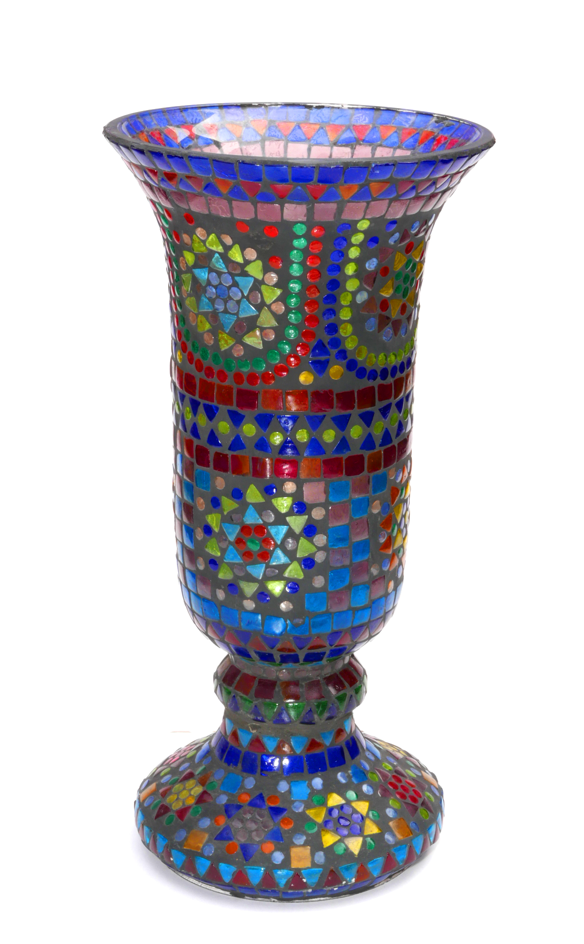 Hebrew Mosaic Vase