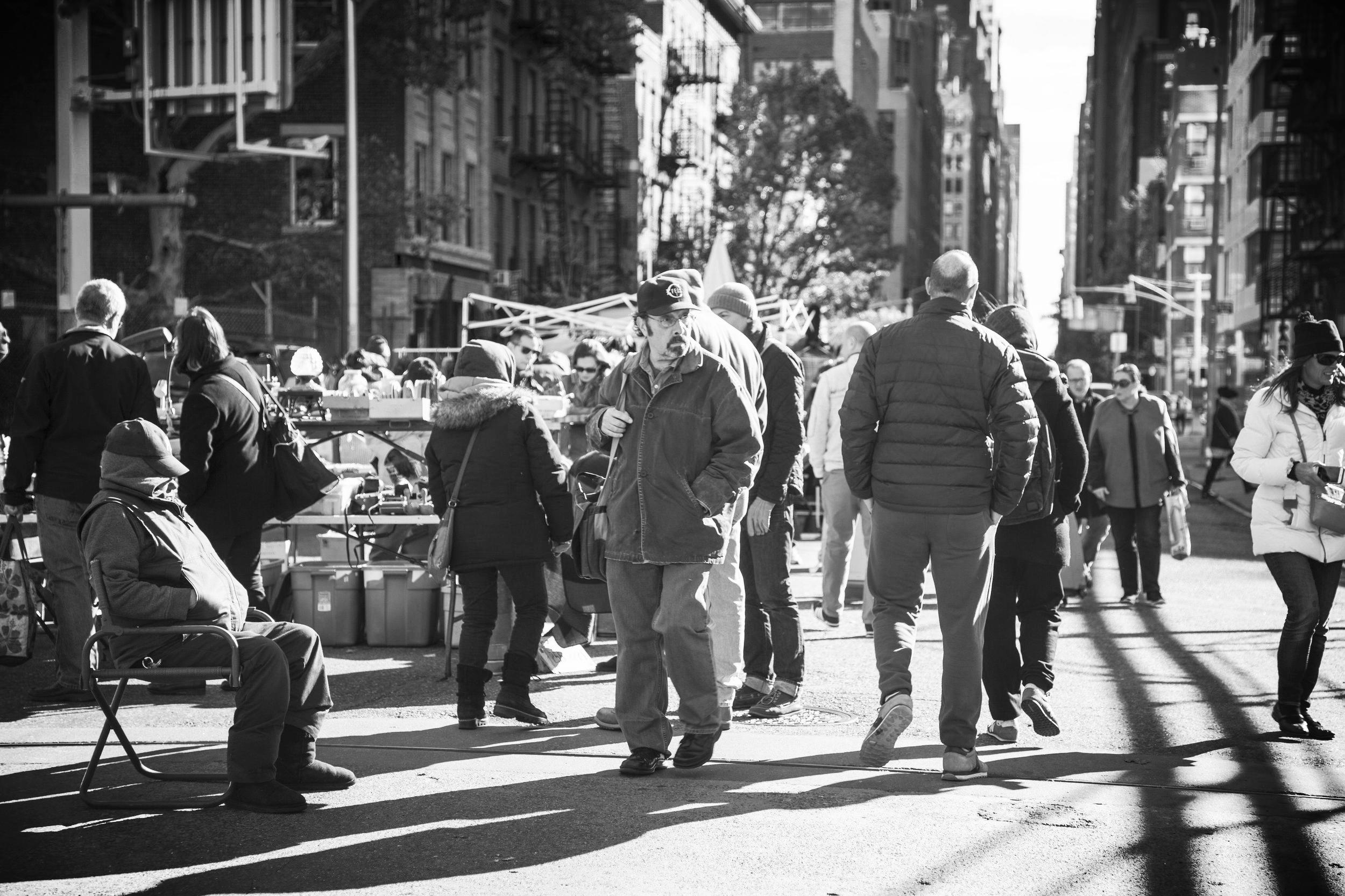 Hell's Kitchen Flea Market History — Annex Markets: Chelsea