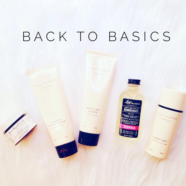 My Basic Skincare Routine