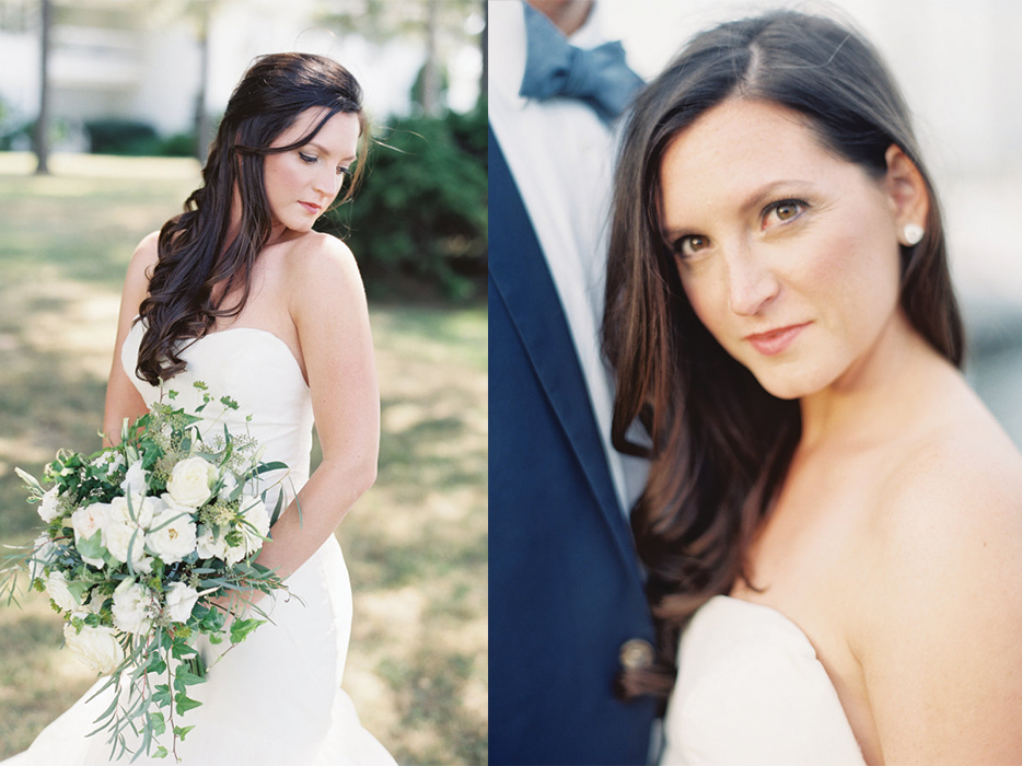 Natural Bride- Kelly Featured in Style Me Pretty.    Photo By: Michael and Carina