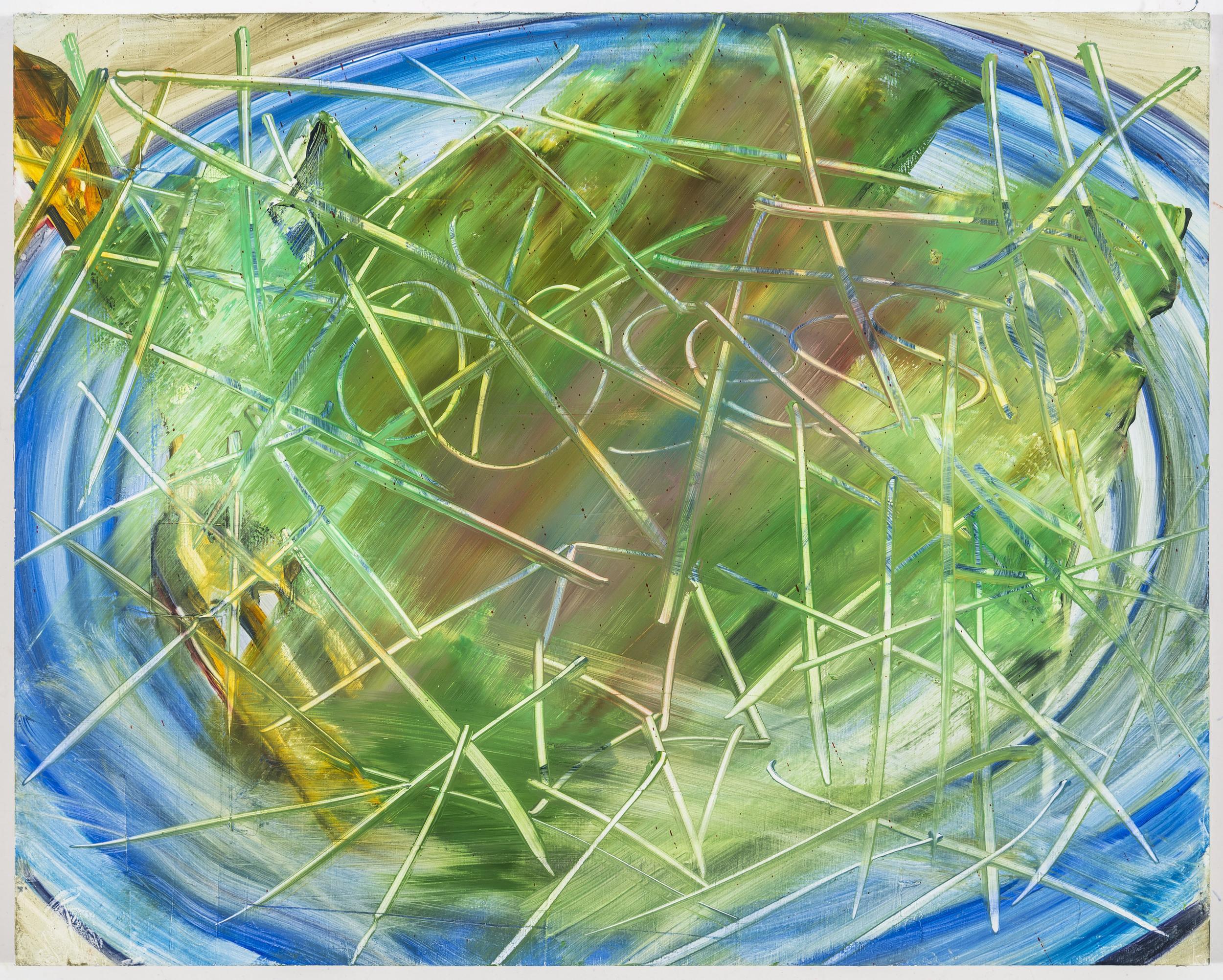 """Streak, 16""""x20, oil on canvas, 2013"""