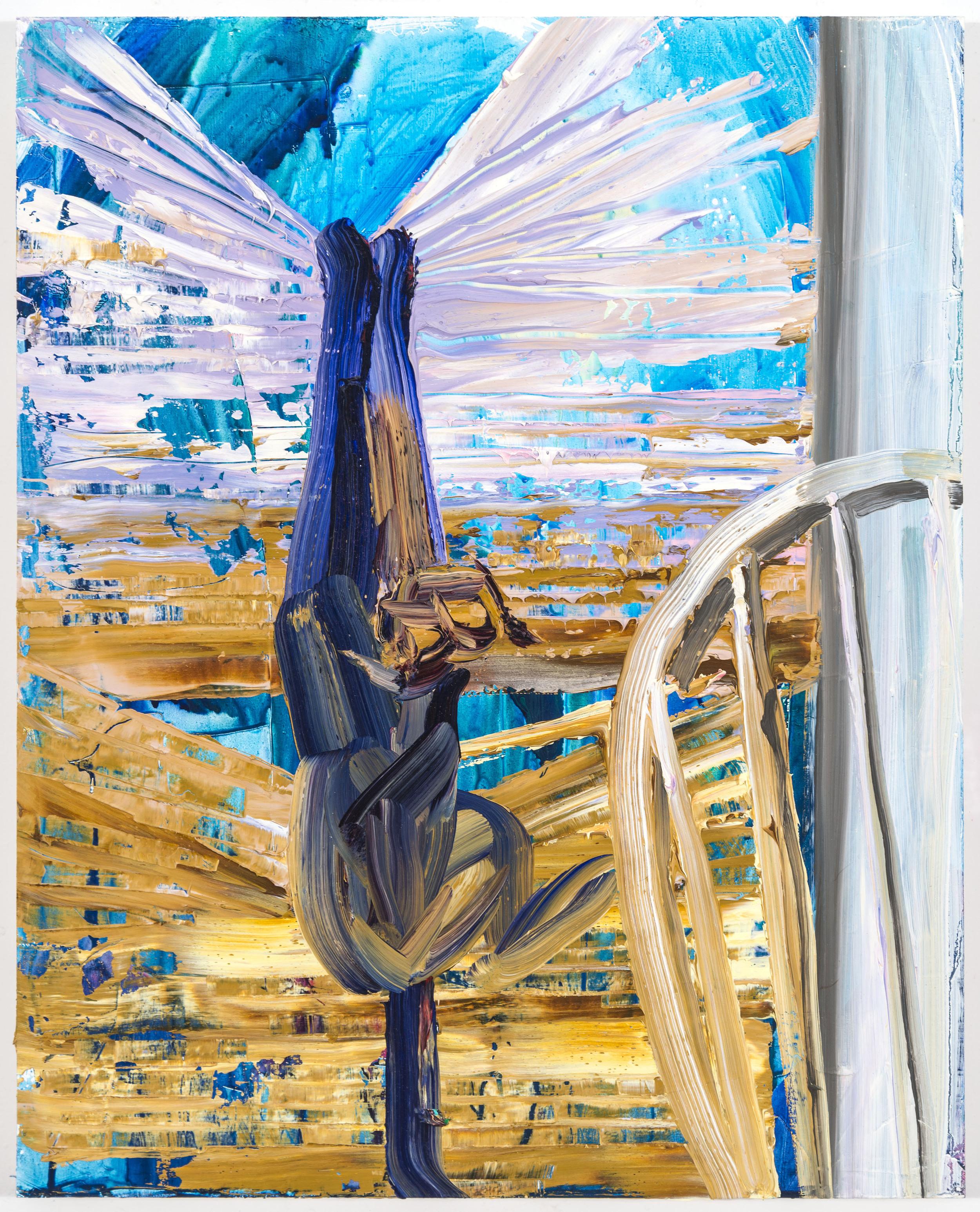 """Winter, 20""""x16"""", oil on panel, 2014"""