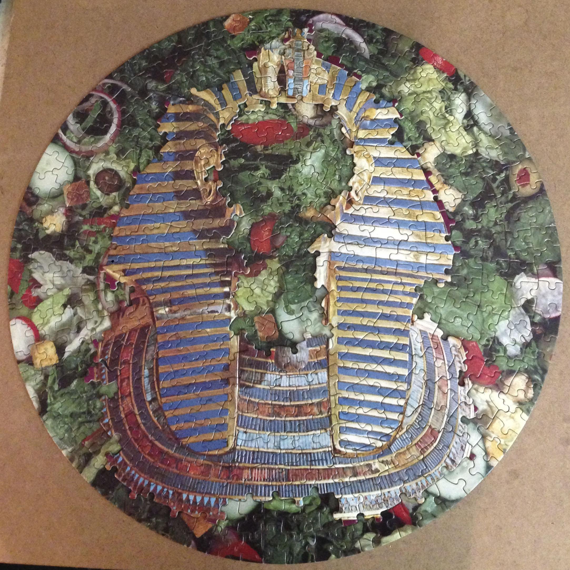 Farro Salad, Puzzle Collage