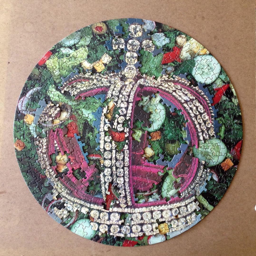 Caesar Salad, puzzle collage