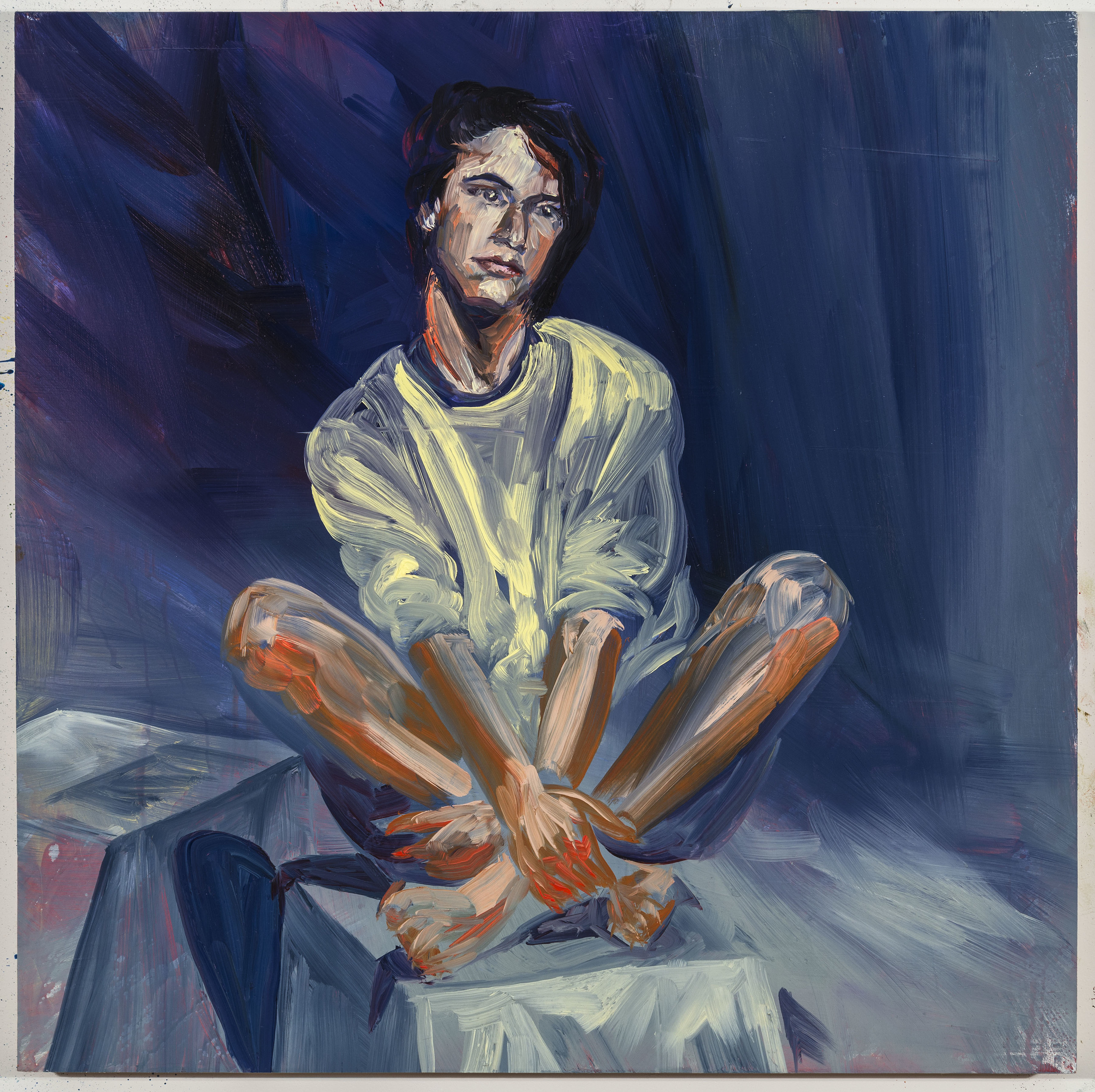 """Limbo, 20""""x20"""", oil on panel, 2014"""