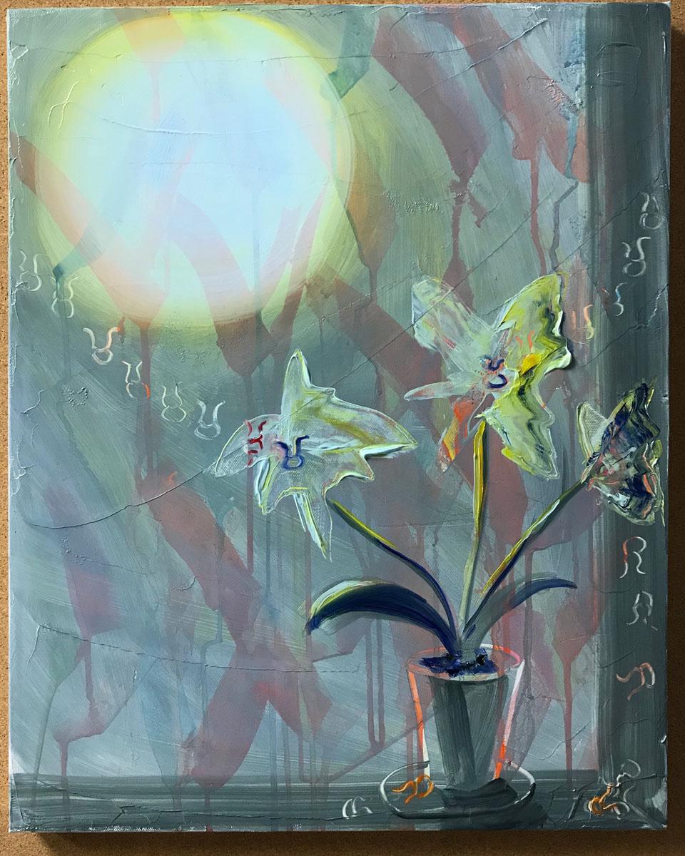 """Taurus, 20""""x16"""", oil on canvas, 2018"""