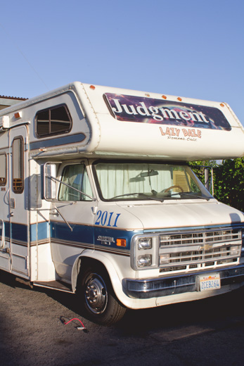 In the months leading up to May 21st, Family Radio had volunteers traveling around the United States in four caravans of RVs spreading the word of judgement day.