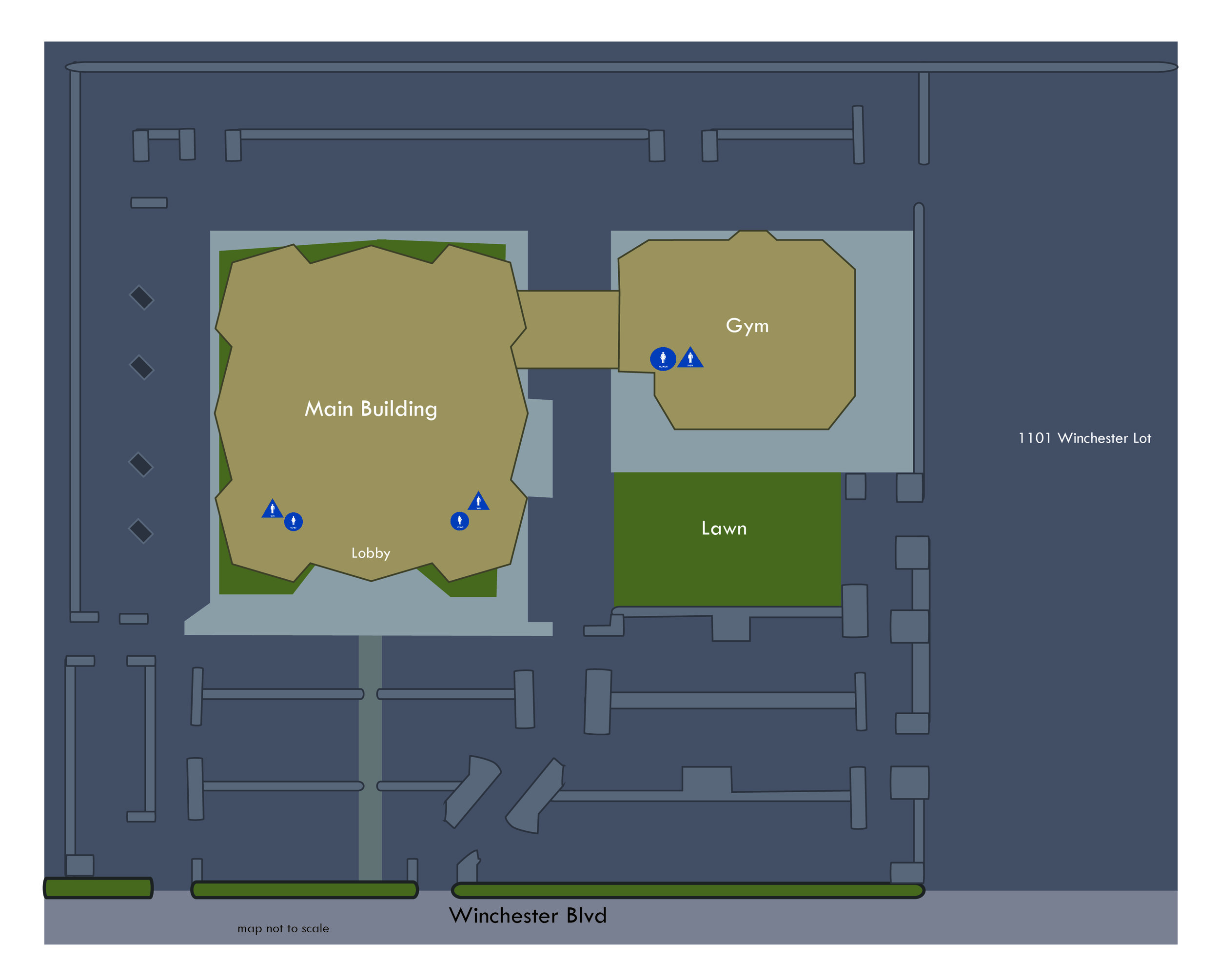 San Jose Campus Layout