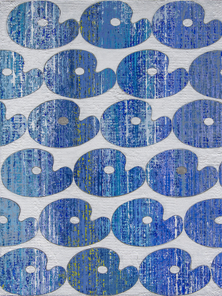 Palettes on Blue Seine