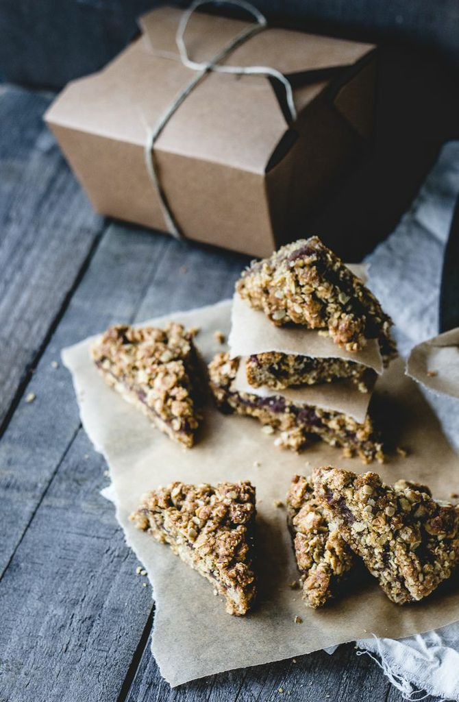 Date Flapjacks | Izy of Top With Cinnamon on Pastry Affair