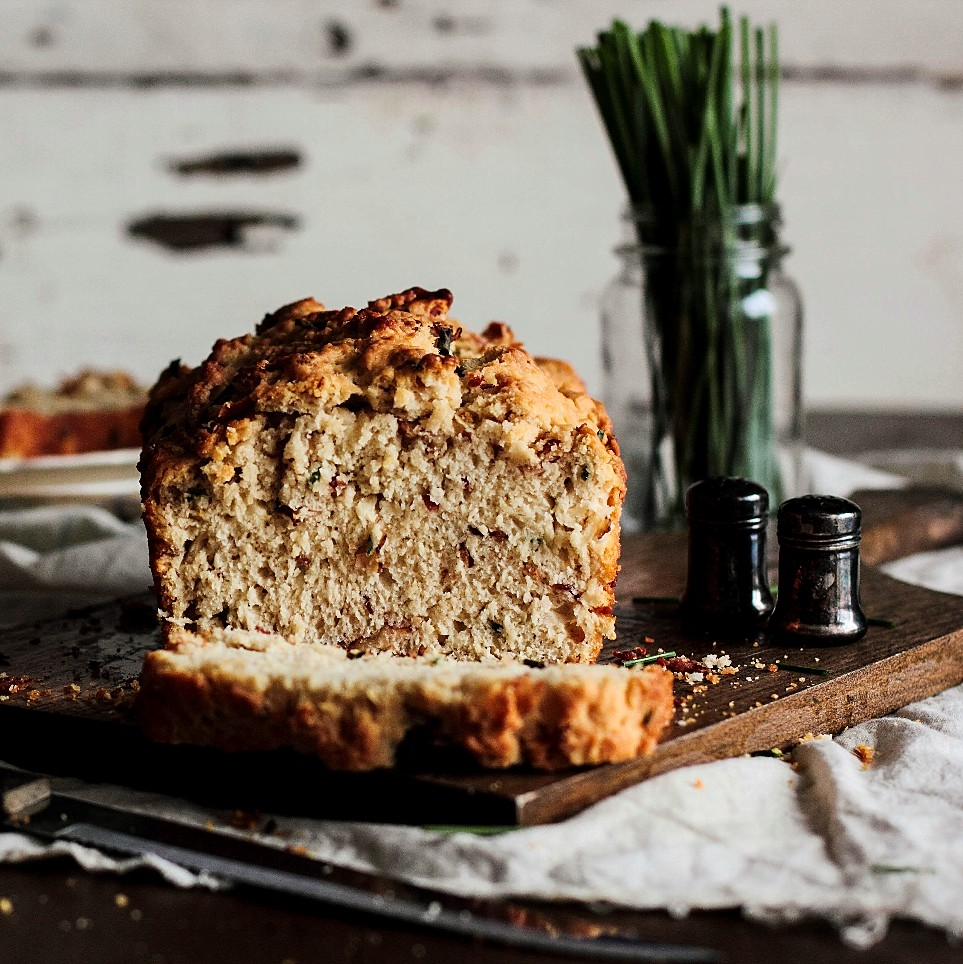 Bacon & Chive Beer Bread