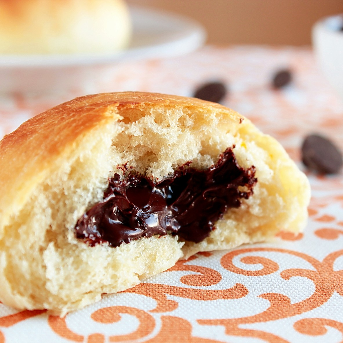 Chocolate Filled Buns