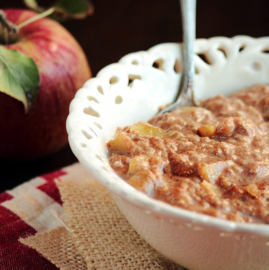 Apple Steel Cut Oatmeal