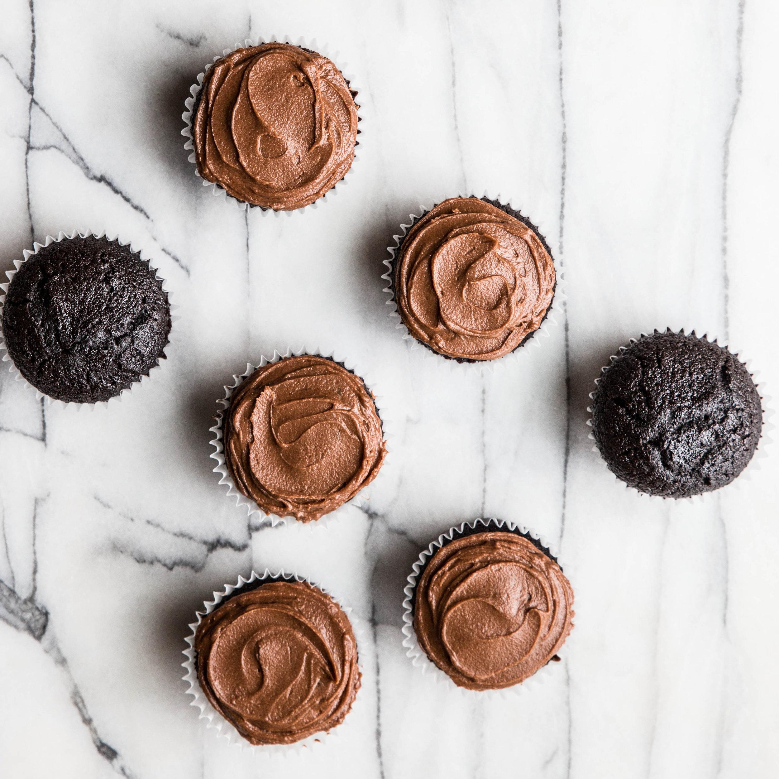 Grandma's Chocolate Cupcakes