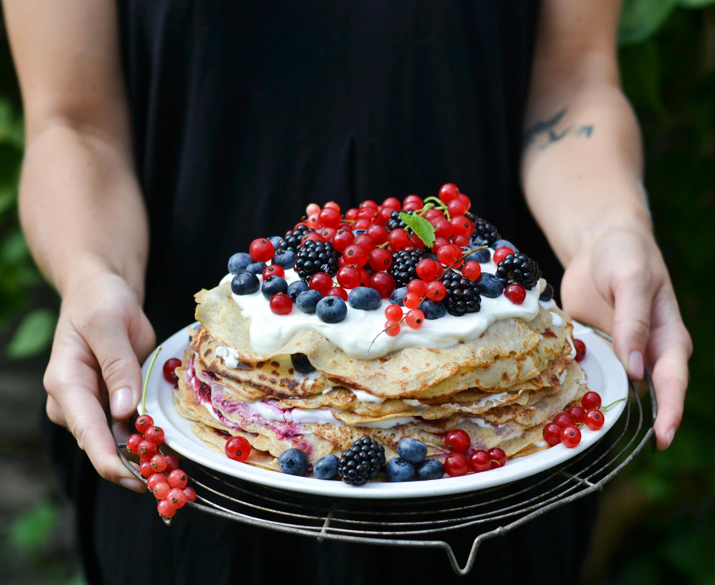 Nordic Pancake Cake