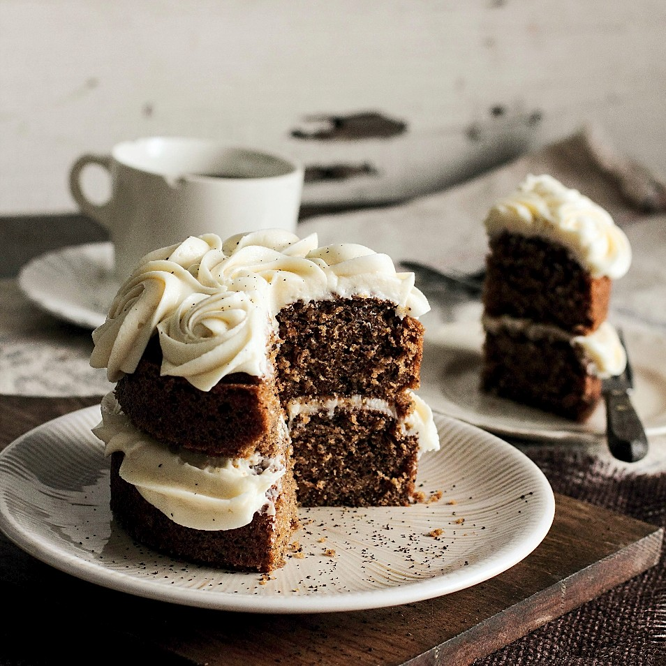 Black Tea Honey Cake