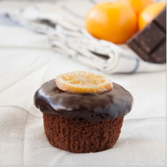 Chocolate Clementine Cupcakes