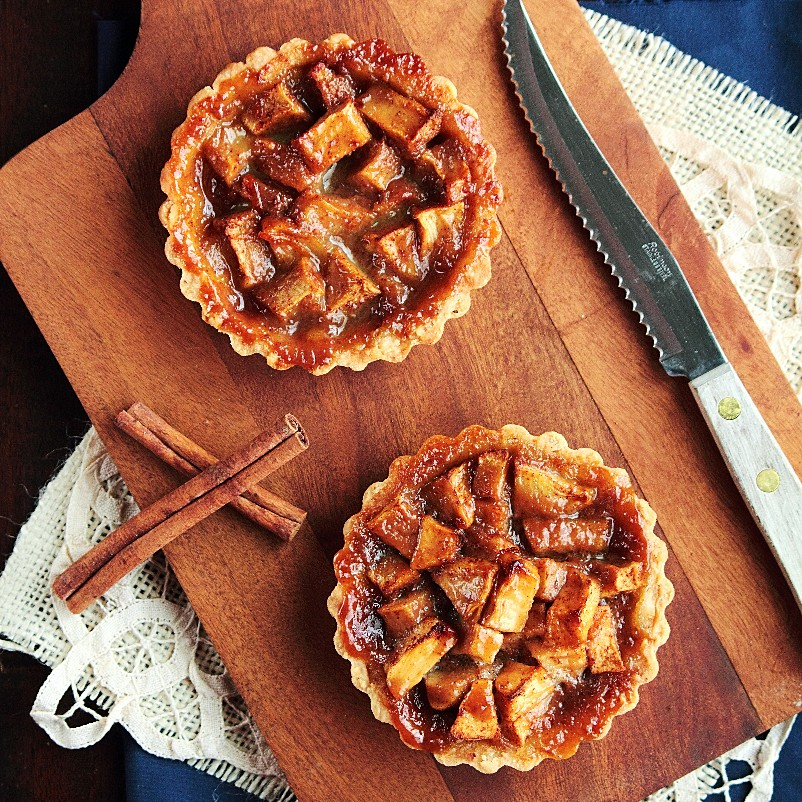 Caramel Apple Tart