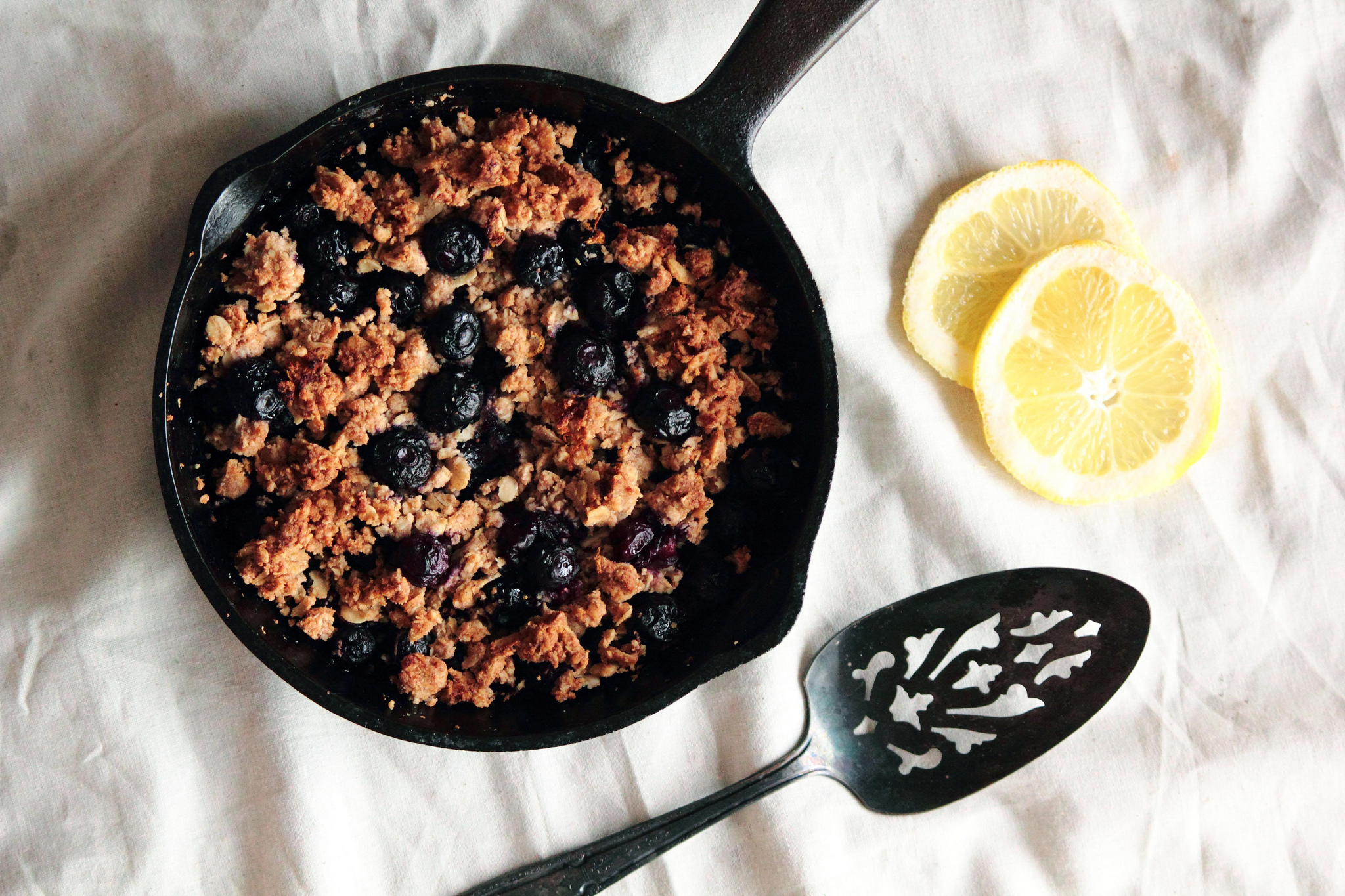 Blueberry Lemon Crumble