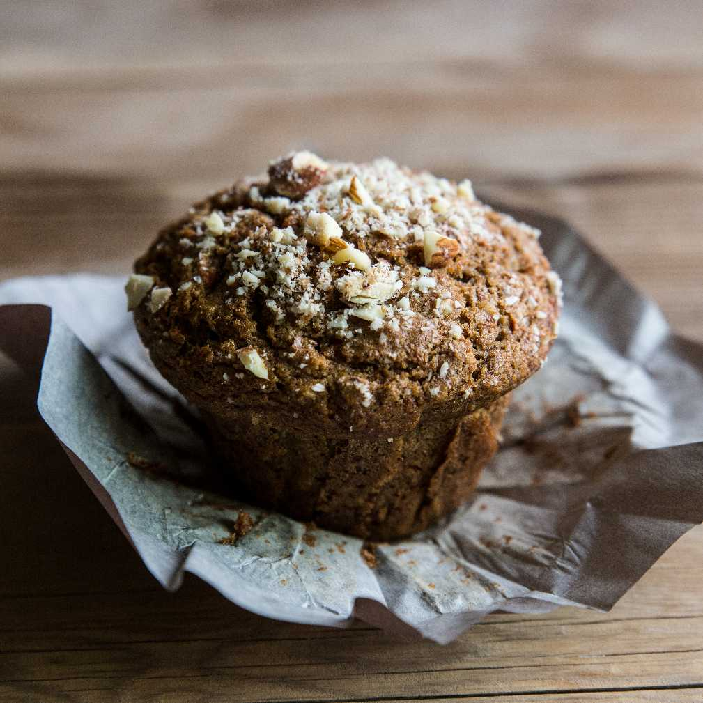 Carrot Almond Muffins