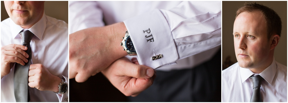 embroidered cuff links _www.rossdeanphotography.com
