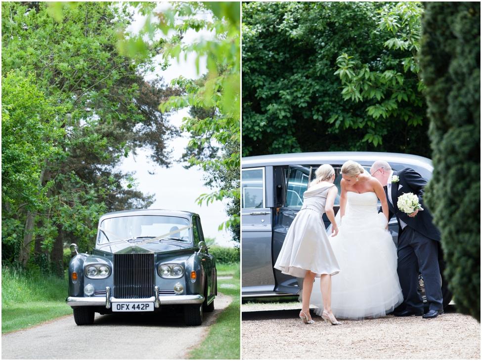 rolls roice wedding transportation