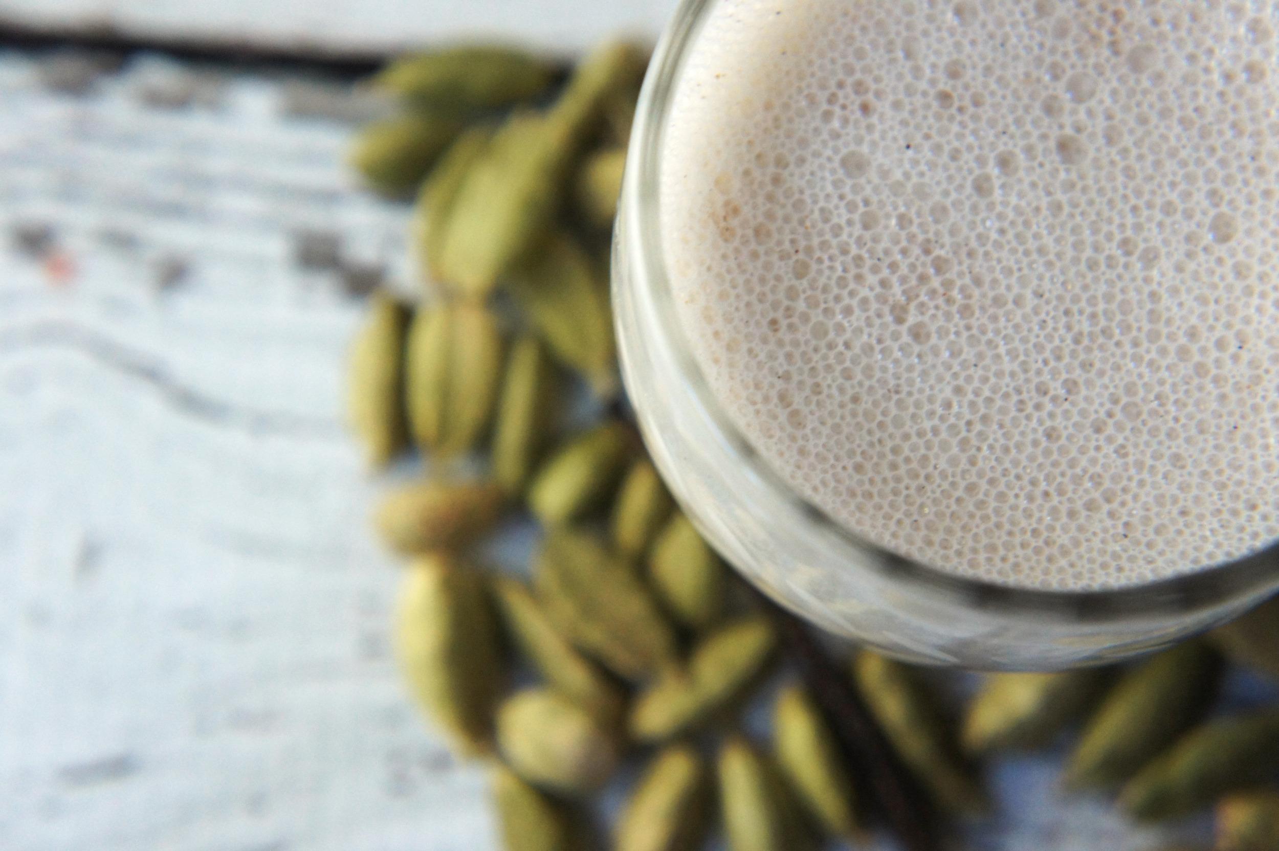 Vanilla-Cardamom Almond Milk