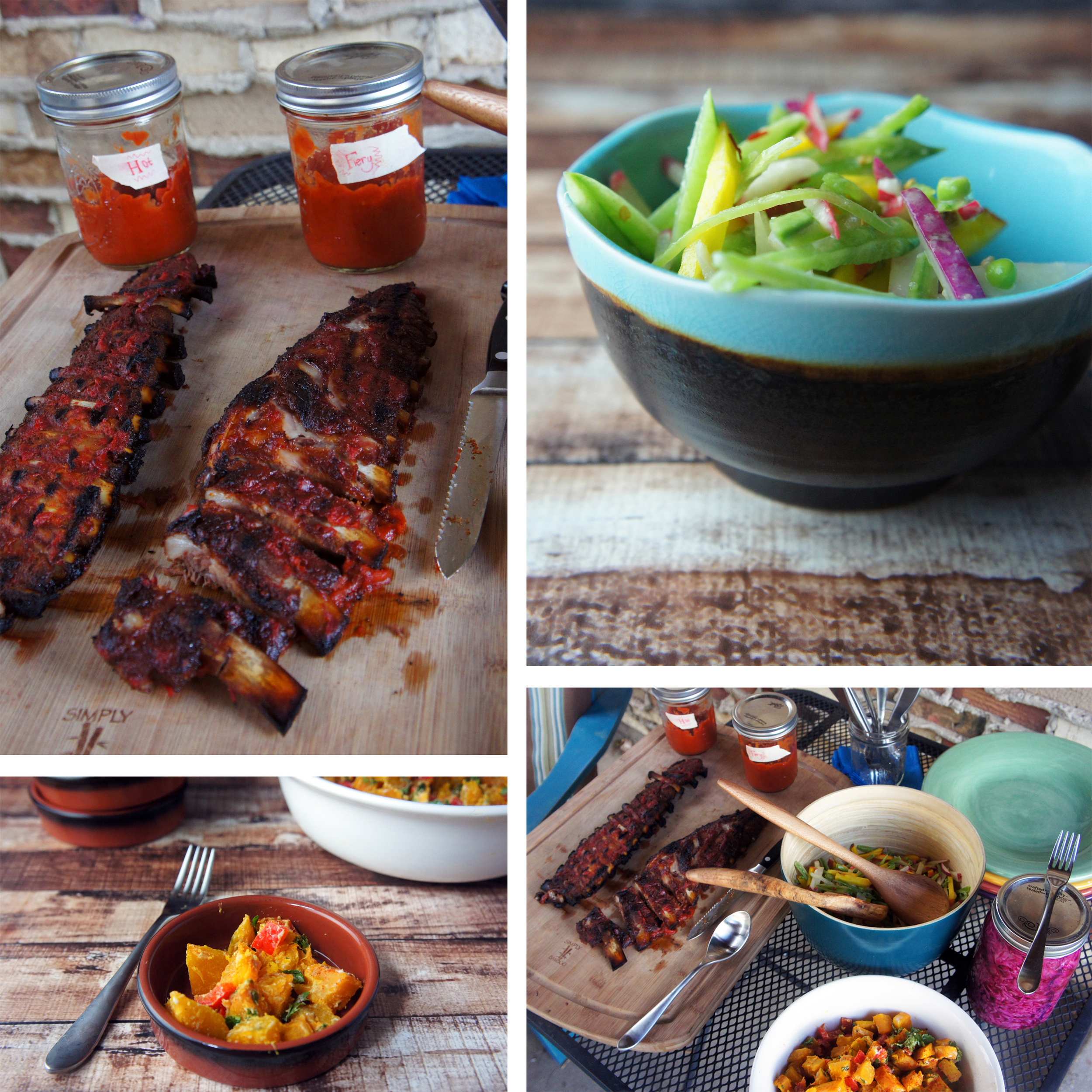 Paleo menu for outdoor party