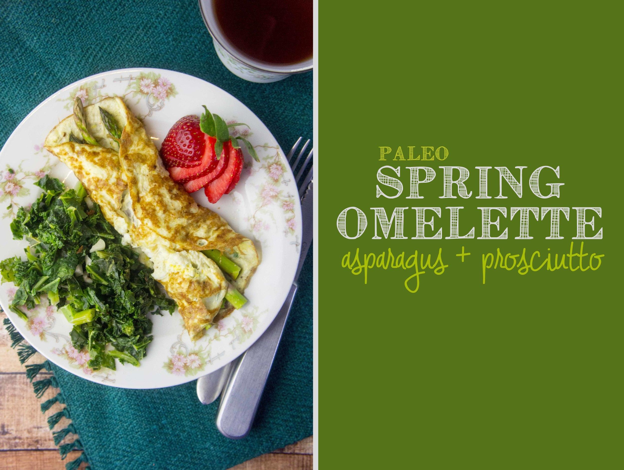 Paleo Spring Omelette