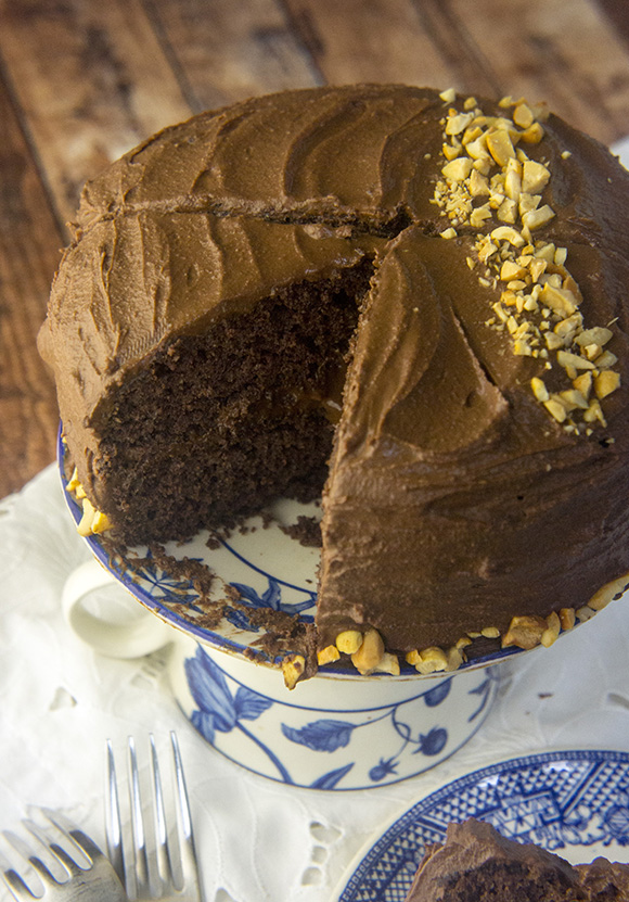 Paleo Blackout Chocolate Cake